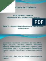 aula_07 Captação de Eventos e Patrocionio em eventos