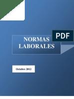normas laborales octubre 2012