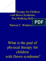 Pat Winders - Physical Therapy for Children With Down Syndrome - English