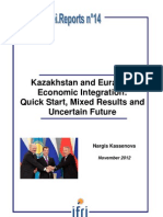 Kazakhstan and Eurasian Economic Integration