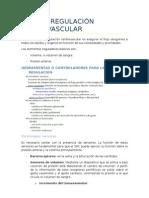 Tema 8. Regulación cardiovascular.