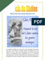 PROFECÍA DE ABDÍAS   ALIANZA DE AMOR