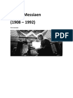 Foto Messiaen Inicio Do Trabalho