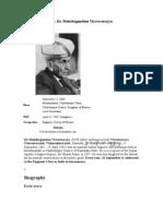 Sir Dr M Visvesvarayya 143
