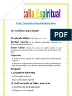 BATALLA ESPIRITUAL | ALIANZA DE AMOR