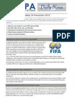 2012-11-26 Ifalpa Daily News