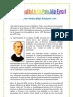 LA ESPIRITUALIDAD DE SAN PADRO JULIÁN EYMARD   ALIANZA DE AMOR