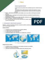 II - Mapas, escalas e localização