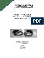 14-Inch Brake Kit Installation Manual
