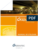 Graitec Advance Design 2012 - Manual de Utilizare