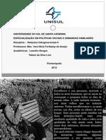 Relações Intergeracionais - Esp Pol Soc- Leandro e Tatiani