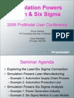 Simulation Powers Lean & Six Sigma