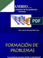 CAMBIO (Solución y formación de problemas)