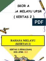 Skor A Bahasa Melayu Penulisan