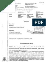 Condena Firme Alcalde Arona Auto Audiencia Provincial