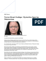 Terror-Braut Zschäpe- Mysteriöse Spur ins Ministerium