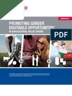u Said Promoting Gender Opportunities
