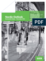 SEB Nordic Outlook November 2012