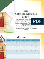 2012 Calendar i o