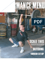 Crossfit NorCal - The Performance Menu Issue 20 - Sep. 2006 - SCALE THIS, The TURKISH GETUP