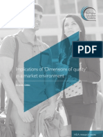 Gibbs HEA Dimensions of Quality in Market Environment