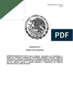 ANTEPROYECTO NORMA OFICIAL MEXICANA NOM-001-SCT-2-2012