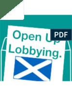 Unlock Democracy's response to the Lobbying Transparency Scotland Bill consultation (2012)