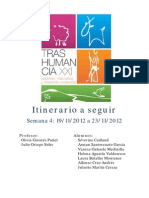 Itinerario Trashumancia 2012