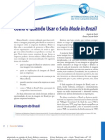 Como e Quando Usar o Selo Made in Brasil
