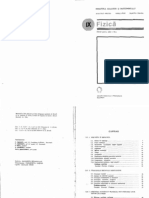 Fizica Manual Pentru Clasa a IX a Editia 1981
