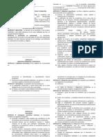 Modelo de Estatutos y Reglamentos