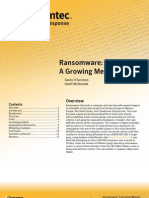 Ransomware A Growing Menace