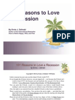 101 Reasons to Love a Recession by Ernie J. Zelinski