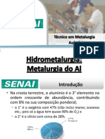 Aula 06 - Metalurgia do Alumínio