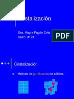Cristalizacion Non Majors RO