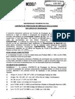 Contrato Cruzeiro Veteranos 20122