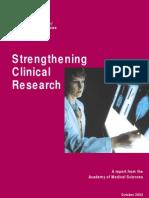 Strenthening Clinical Reserach