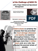 The Threat and the Challenge of MDR-TB