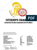 WMSU Citizen's Charter
