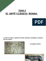Tema 4 Arte Roma. Arquitectura