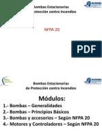 Bombas Estacionarias NFPA20