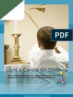 Light a Candle for Children Meditation Booklet (2012)
