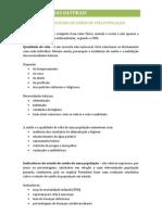 INDICADORES DO ESTADO DE SAÚDE DE UMA POPULAÇÃO
