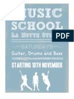 Music School Application