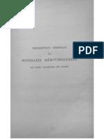 Description des monnaies mérovingiennes par ordre alphabétique des ateliers. T. IV