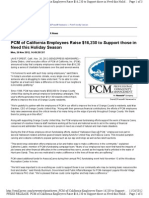 PCM of California Employees Raise $16,230 to Support Those in Need This Holiday Season