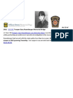 Liberty Index 2012 Officer Down Gary Rosenberger