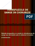 Transfuzii Curs