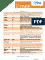 Targeted Fresh Press 11/23/2012