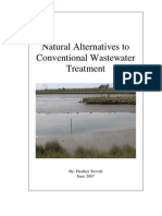Conventional Waste Water Treatments